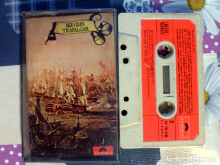CINTA CASETE DE GRUPO - BEE GEES - TRAFALGAR - EDITA POLIDOR 1978 (Música - Casetes)