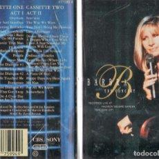 Casetes antiguos: BARBRA STREISAND-THE CONCERT, SONY CBS.. Lote 98797575