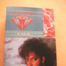 Casetes antiguos: TINO CASAL CASETE ORIGINAL EMI 1984 - HIELO ROJO - GLAM SYNTH POP. Lote 99370187
