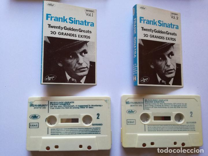 Casetes antiguos: CINTA - CASSETTE - CASET - FRANK SINATRA - 20 GRANDES EXITOS - CAPITOL 1978 - Foto 2 - 99589159