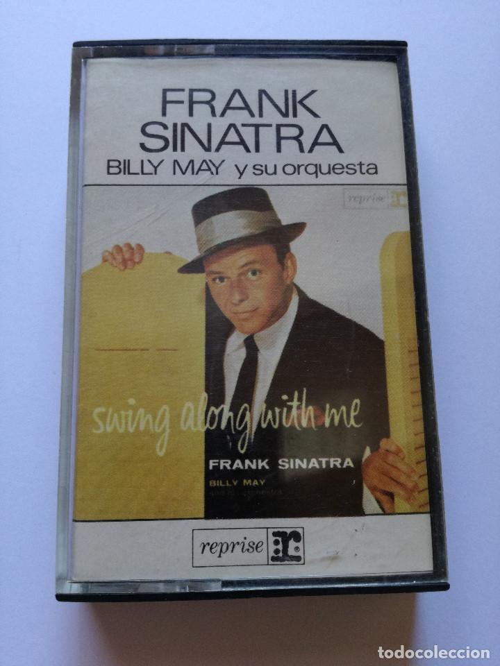 CINTA - CASSETTE - CASET - FRANK SINATRA - BILLY MAY Y SU ORQUESTA - REPRISE 1980 (Música - Casetes)