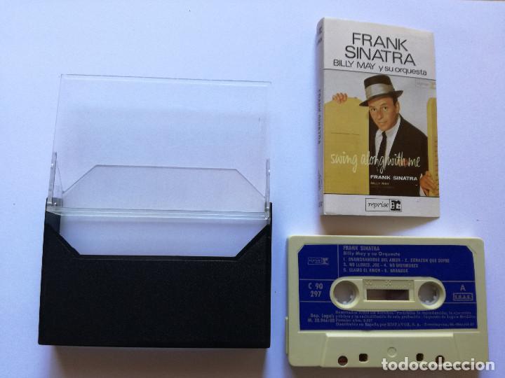 Casetes antiguos: CINTA - CASSETTE - CASET - FRANK SINATRA - BILLY MAY Y SU ORQUESTA - REPRISE 1980 - Foto 2 - 99590943