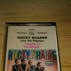 Casetes antiguos: CASETE ROCKY SHARPE AND THE REPLAYS. Lote 99762767