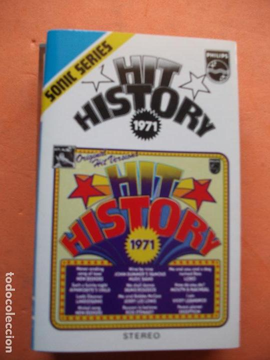 VARIOS - HIT HISTORY 1971 HIT HISTORY 1971 CASSETTE SPAIN 1975 PDELUXE (Música - Casetes)