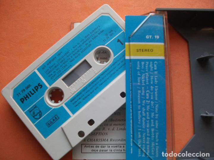 Casetes antiguos: VARIOS - HIT HISTORY 1971 HIT HISTORY 1971 CASSETTE SPAIN 1975 PDELUXE - Foto 2 - 100243527