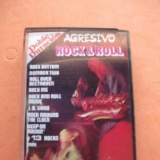 Casetes antiguos: TIMMY & BLUE SKY AGRESIVO ROCK & ROLL CASSETTE SPAIN 1977 PDELUXE. Lote 100243895