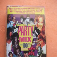 Casetes antiguos: VARIOS - PARTY MIX (BEATLES MEDLEY) OVER 100 NON STOP MUSICA CASSETTE SPAIN 1991 PDELUXE. Lote 100244683
