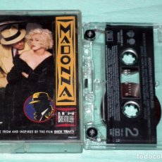 Casetes antiguos: MADONNA – I'M BREATHLESS - B.S.O. DICK TRACY. Lote 101114531