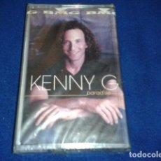 Casetes antiguos: CASETE CINTA CASSETTE KENNY G ( PARADISE ) BMG 2002 PRECINTADA. Lote 101403007