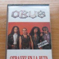Casetes antiguos: OBUS - OTRA VEZ EN LA RUTA - 1990. Lote 101523583
