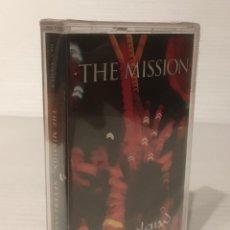Casetes antiguos: THE MISSION. NEVERLAND. CASETE NUEVO Y PRECINTADO. SEALED.. Lote 101936479