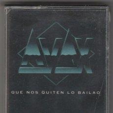 Casetes antiguos: AYAX - QUE NOS QUITEN LO BAILAO (CASSETTE DIGIMUSIC & RECORDS 1993) NUEVO. PRECINTADO.. Lote 102447767