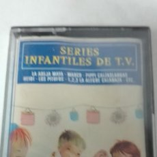 Casetes antiguos: CASETE SERIES INFANTILES DE TV. Lote 102548055