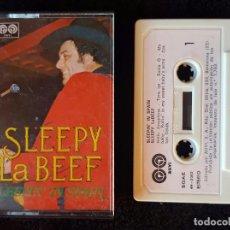 Cassetes antigas: CASSETTE SLEEPY LA BEEF - SLEEPIN' IN SPAIN - AUVI 1979. Lote 103211203