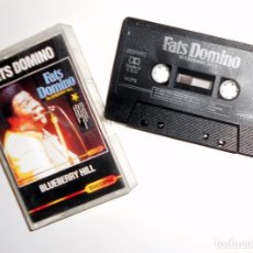 Casetes antiguos: CASETE CASSETTE FATS DOMINO - BLUEBERRY HILL - ROCK & ROLL - SUCCESS - ANTIGUO. Lote 103439355