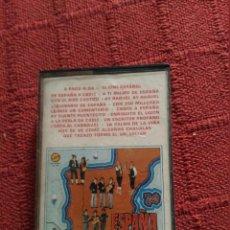 Casetes antiguos: CARNAVAL DE CADIZ COMPARSA ESPAÑA Y OLE CASETE. Lote 103821591