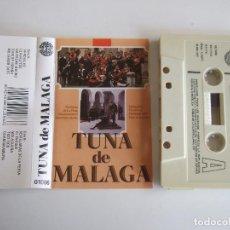 Casetes antiguos: CINTA CASETE - TUNA DE MALAGA - DOBLON 1987 - 10 TEMAS. Lote 103821811