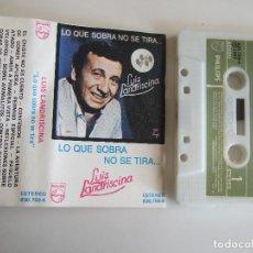 Casetes antiguos: CINTA CASETE - LUIS LANDRISCINA - LO QUE SOBRA NO SE TIRA - PHILIPS 1987 - 12 TEMAS. Lote 103821971