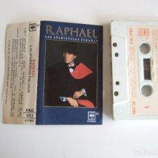 Casetes antiguos: CINTA CASETE - RAPHAEL LAS APARIENCIAS ENGAÑAN - CBS 1988 - 10 TEMAS. Lote 103822063