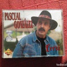 Casetes antiguos: PASCUAL GONZALEZ FERIA 2 CASETES. Lote 103822083