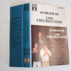 Casetes antiguos: CINTA CASETE - LO MEJOR DE LOS CHUNGUITOS - EMI ODEON 1980 - 13 TEMAS. Lote 103822375
