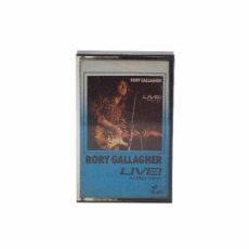 Casetes antiguos: CASSETTE. LIVE! IN EUROPE. RORY GALLAGHER. (VG+/VG+). Lote 103785011