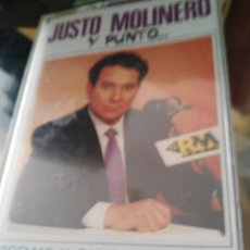 Casetes antiguos: JUSTO MOLINERO. Lote 104021847