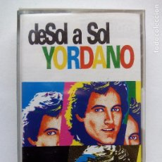 Casetes antiguos: YORDANO. DE SOL A SOL. CASETE SONOGRÁFICA 10342-C. VENEZUELA 1992.. Lote 104455883