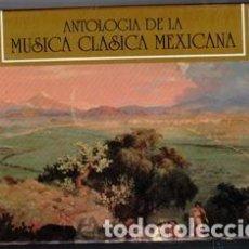 Casetes antiguos: ANTOLOGÍA DE LA MÚSICA CLÁSICA MÉXICANA, CAJA CON CASETTE Y LIBROS. Lote 104511431