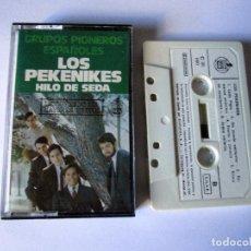 Casetes antiguos: LOS PEKENIKES - HILO DE SEDA - CASSETTE 12 TEMAS - GRUPOS PIONEROS ESPAÑOLES - HISPAVOX 1978 SPAIN. Lote 152133474