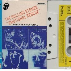 Casetes antiguos: THE ROLLING STONES-RESCATE EMOCIONAL-CASETE. Lote 104799527