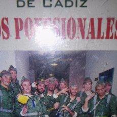 Casetes antiguos: CHIRIGOTA DE CÁDIZ. LOS POFESIONALES. 1999. Lote 105035463