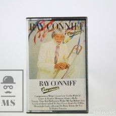 Casetes antiguos: CINTA DE CASETE / CASSETTE - RAY CONNIFF / CAMPEONES - CBS, 1985. Lote 106909618
