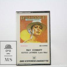 Casetes antiguos: CINTA DE CASETE / CASSETTE - RAY CONNIFF / EXITOS LATINOS - CBS, 1977. Lote 106909927