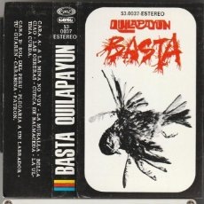 Cassettes Anciennes: QUILAPAYUN - BASTA (CASSETTE MOVIEPLAY 1975). Lote 107385555