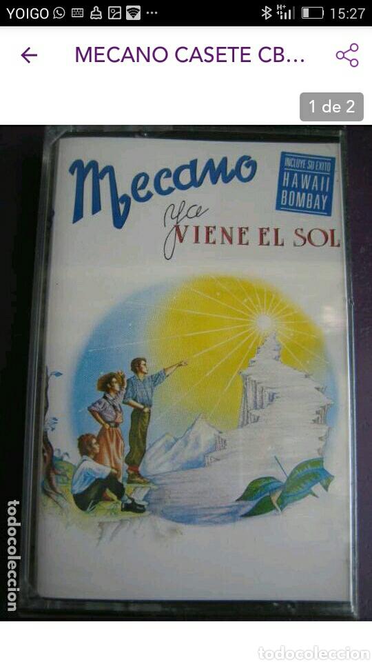 CASETE MECANO (Música - Casetes)