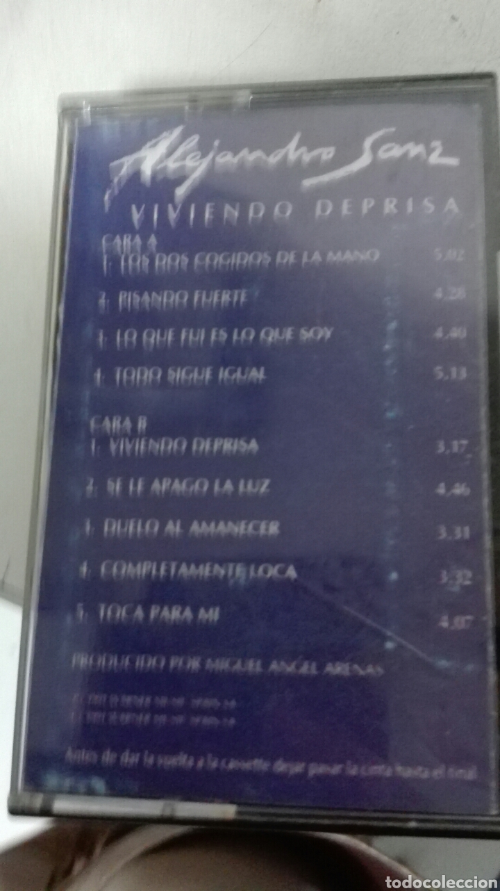 CASETE ALEJANDRO SANZ (Música - Casetes)