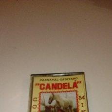 Casetes antiguos: B-42 CASETE CARNAVAL DE CADIZ CORO CANDELA. Lote 109109679