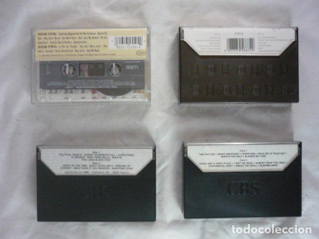 Casetes antiguos: Lote x4 Cassette - Bob Dylan / Phil Collins / Rolling Stones / Queen - Foto 3 - 110490739