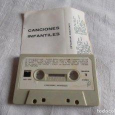Casetes antiguos: CANCIONES INFANTILES. Lote 110673271