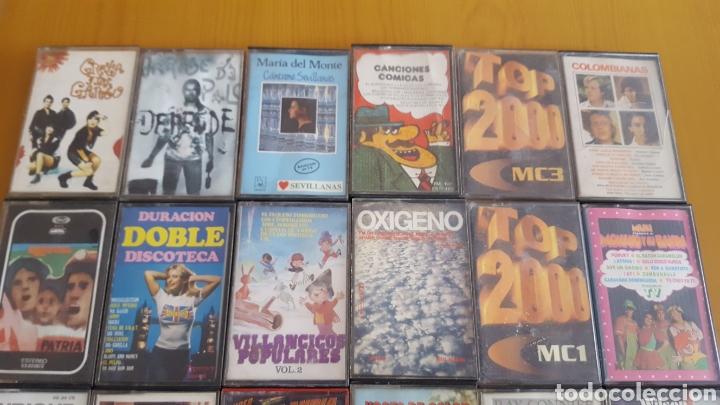 Casetes antiguos: Lote 32 cintas casete variadas - Foto 2 - 110962372