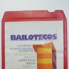 Casetes antiguos: BAILOTECOS CARTUCHO STEREO 8 PISTAS . Lote 111584031