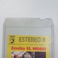 Casetes antiguos: EMILIO EL MORO CARTUCHO STEREO 8 PISTAS . Lote 111584175