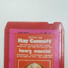 Casetes antiguos: EXITOS DE RAY CONNIFF . HENRY MANCINI CARTUCHO STEREO 8 PISTAS . Lote 111586863