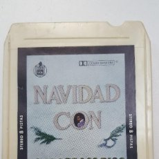 Casetes antiguos: NAVIDAD CON WALDO DE LOS RIOS CARTUCHO STEREO 8 PISTAS . Lote 111586999