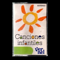 Casetes antiguos: CANCIONES INFANTILES.. Lote 113388775