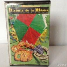 Casetes antiguos: MUSICA VALENCIANA ESPECIAL PASCUA. Lote 113583198