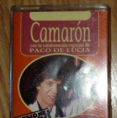 Casetes antiguos: CASETE CAMARON DE LA ISLA LLORANDO ME LO PEDIA 1995 POLYGRAM IBERICA PACO DE LUCIA. Lote 114733583