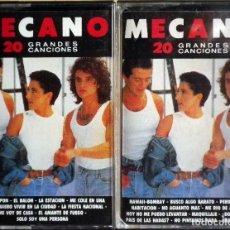 Casetes antiguos: MECANO - 20 GRANDES CANCIONES - VOLÚMEN 1 Y 2 (CBS, 1989).. Lote 114733759