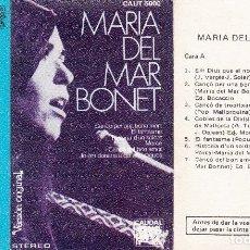 Casetes antiguos: MARÍA DEL MAR BONET. CAUDAL, 1977.. Lote 114797707